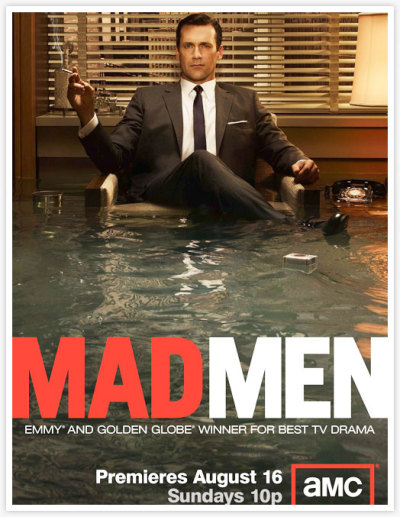 And the Don is back tonight!! Mad Men season 3 returns tonight on AMC with Mr. Draper and all those he allows to swim in his pond ;).