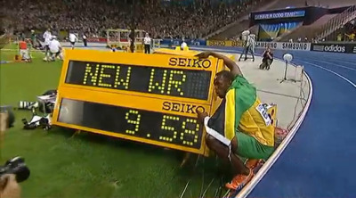 Bolt to the World!!!-Proud Jamaican right now!! Congrats Tyson Gay,#2 not so bad! and Asafa, you are smiling and dancing at a World meet, nice to see that!!
