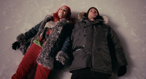 movieoftheday: Eternal sunshine of the spotless mind  Joel: I'm just… happy. I've never felt that before. I'm just exactly where I wanna be.
