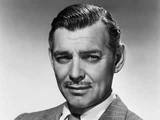 Clark Gable via yellowhat: definitivebeards