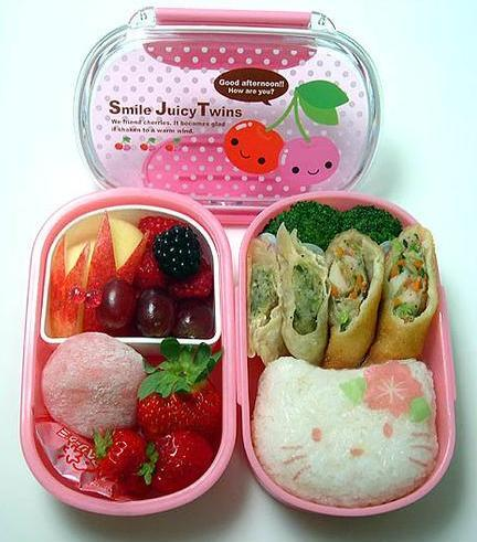 It's back-to-school time, and I love the idea of bento lunch boxes for kids to take to school instead of the more traditional lunch box.