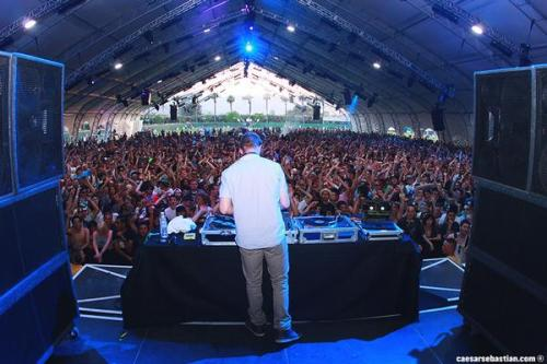 Diplo in the Sahara Tent
