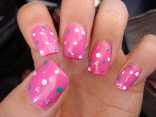 'Barbie' nails.