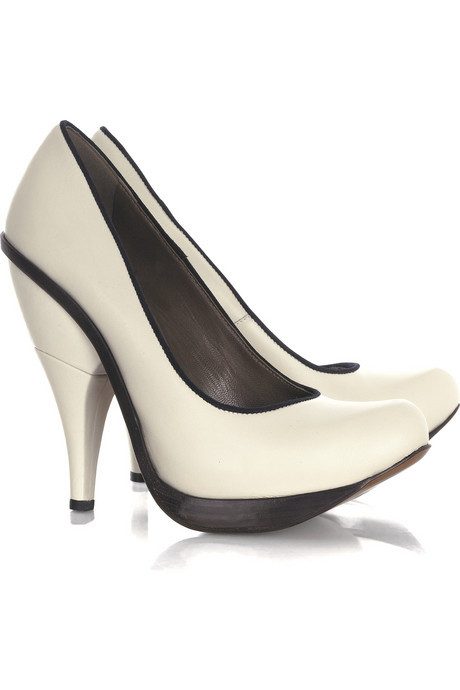 Curvy and almost comical Marni pumps.