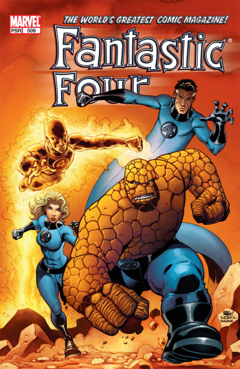 Fantastic Four #509 by Mark Waid, Mike Wieringo and Karl Kesel