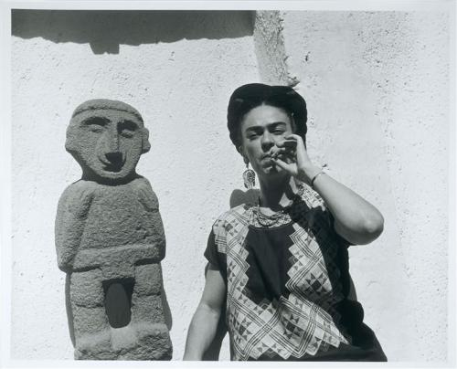 daliya:  tobia: chicadecuba: (via sweetcreams) Frida Kahlo I am developing a crush on this woman.
