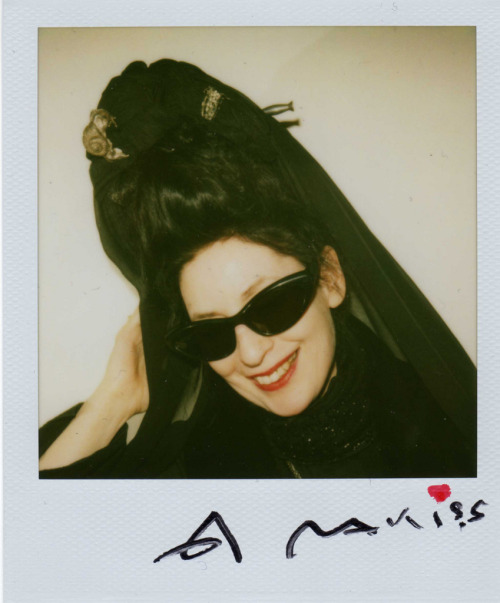 and just one more;] adski_kafeteri:Diane Pernet by Araki