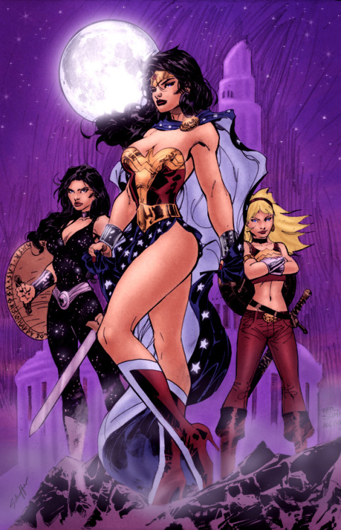 Wonder Women by Jim Lee and Stephen Schaffer