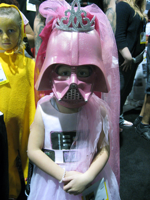 Pink Vader Princess (via Official Star Wars Blog)