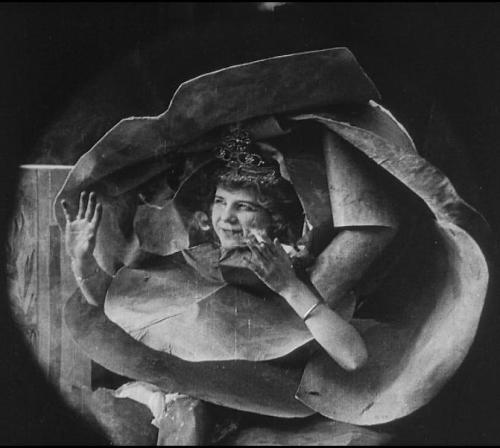 Princess Nicotine; or, The Smoke Fairy (1909, dir.J. Stuart Blackton) (via brightlightsfilm.com) This 5-minute silent film is less notable for its relatively simple plot (a smoker is woken up by two mischievous fairies who proceed to torment him) than for its groundbreaking visual effects (many of the shots are designed to show the tiny fairies interacting with objects much larger than themselves). When Princess Nicotine; or, The Smoke Fairy was released a century ago, the special effects were considered so advanced & state-of-the-art  that scientific journals published articles about them. The film is viewable on youtube here.