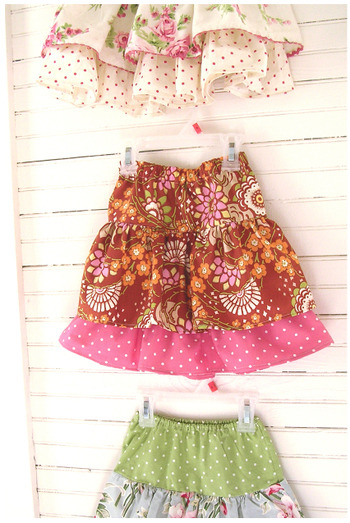 http://grandrevivaldesign.typepad.com/photos/ruffled_skirts_tutorial/skirts4000.html shedot1:  littleforeverfamily:  These skirts are not only easy but adorable! Click on the picture to be linked to the tutorial!!!