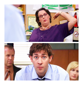 shamrys / heartwarming / tvquotes / lonelytourist PHYLLIS; Hey, Michael. I mean, Jim.JIM; Yeah. Phyllis called me Michael and I will always and forever be haunted by that fact.
