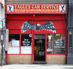 Eagles Car Service, Stoke Newington High Street N16