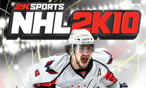 thehwangspot: Alex Ovechkin. Just looking like a badass on the new cover of NHL 2K10. Amidst all the recent fan and media overplay and hyperbole, I thoroughly miss this irreverently fun and bold version of Ovie. Thanks again, NHL culture.
