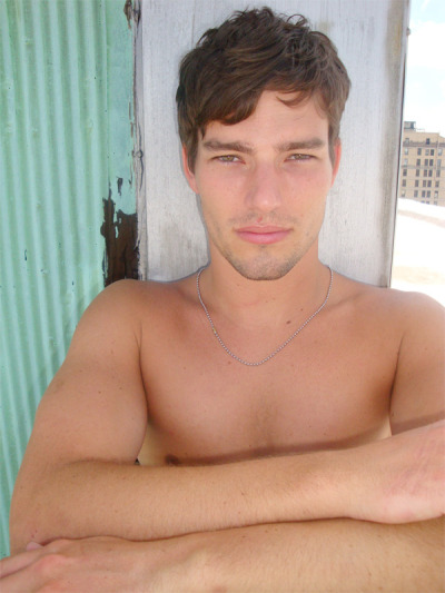 Michael Derr, Ford Models. (image via models.com)