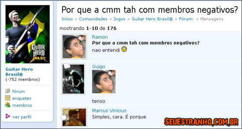 Meme TENSO do momento Tenso Ownado no Orkut | Seu Estranho.O!