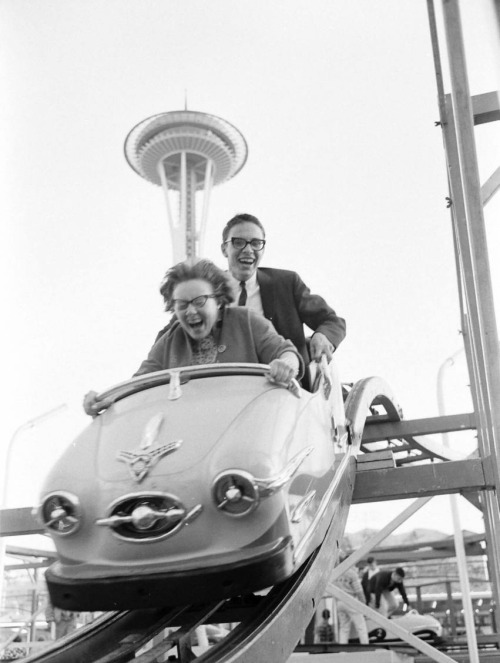 "ourseattle:  ""Seattle World's Fair photograph. Photo by Ralph Crane, 1962, LIFE Magazine."" VintageSeattle.org"