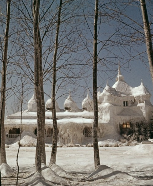 "Dr. Zhivago's ""ice-palace"" (1965, dir. David Lean) (via)"
