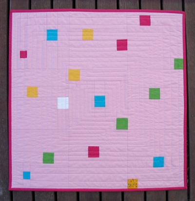 ritacor: confetti baby quilt - red pepper quilts