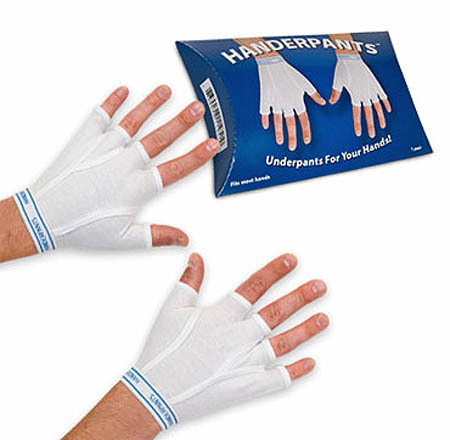 Handerpants anyone?! Hahahahaha so silly! I swear if I see my friends wearing this, I'm gonna slap them silly!