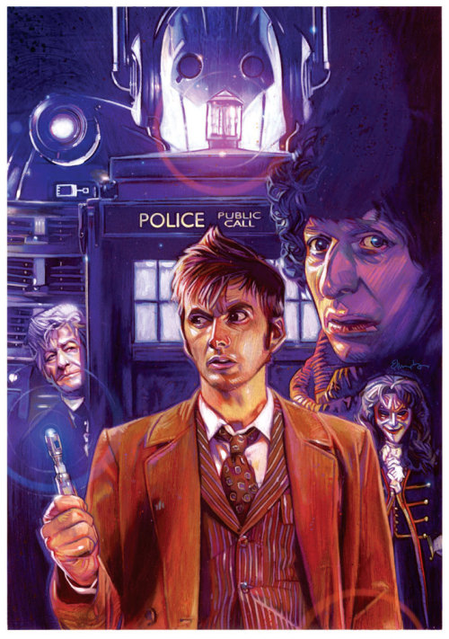 The Third, Fourth and Tenth Doctor ancientforever: Tommy Lee Edwards
