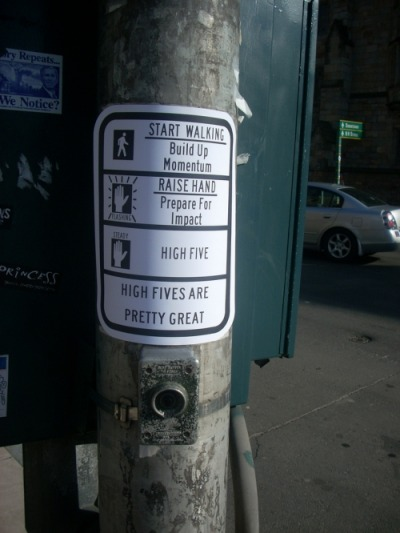 Crosswalk Sign Hacks « Urban Prankster