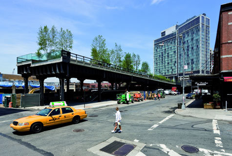 another photo of The High Line, New York via Architecture of Change: 8 Real-World Examples | Fast Company