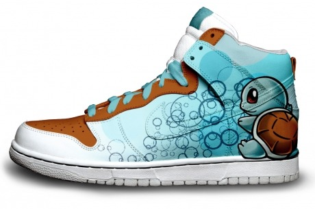 "gamefreaksnz: ""Squirtle Squirtle"" « BRASS MONKI custom sneakers SQUIRRRRTLE squirt squirtle (*。_。) SQUIRTLE squirtle ""bopper"" squirt squirtle. squirtle…"