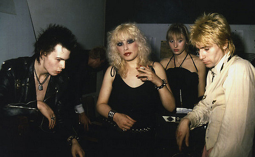 Sid and Nancy with Johnny (I think)