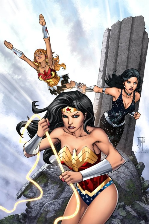 Wonder Women by Francis Manapul and Beth Sotelo