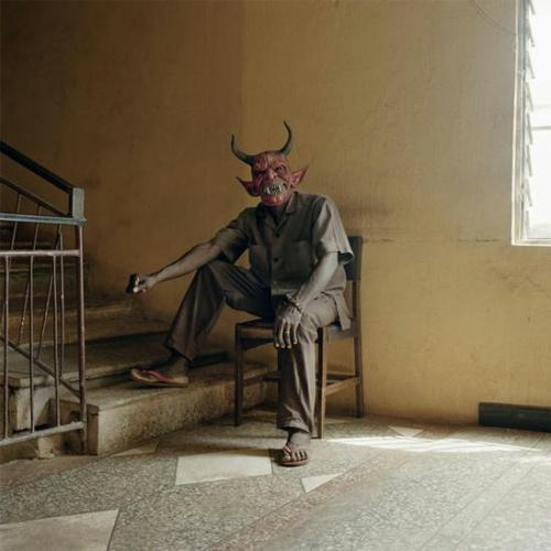 wow. so photographer Pieter Hugo traveled around Africa and while there, visited the sets of Nollywood in Nigeria. Nollywood is apparently the third largest film industry in the world. pretty crazy stuff.