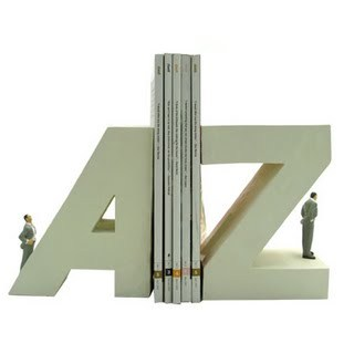 Alphabet Bookends