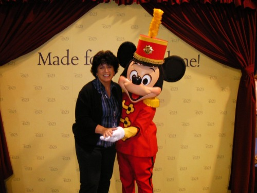 I met Mickey, too…