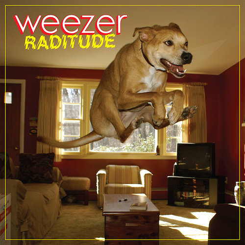 carlovely: weezer's new album art for the upcoming 'raditude'