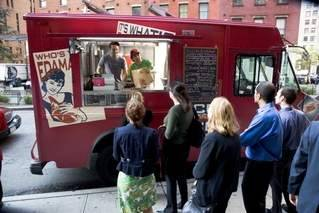 Rickshaw Dumpling Truck (via Crain's NY - Photo by Buck Ennis)