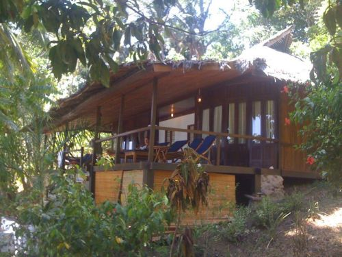 Our cottage on Bunaken Island