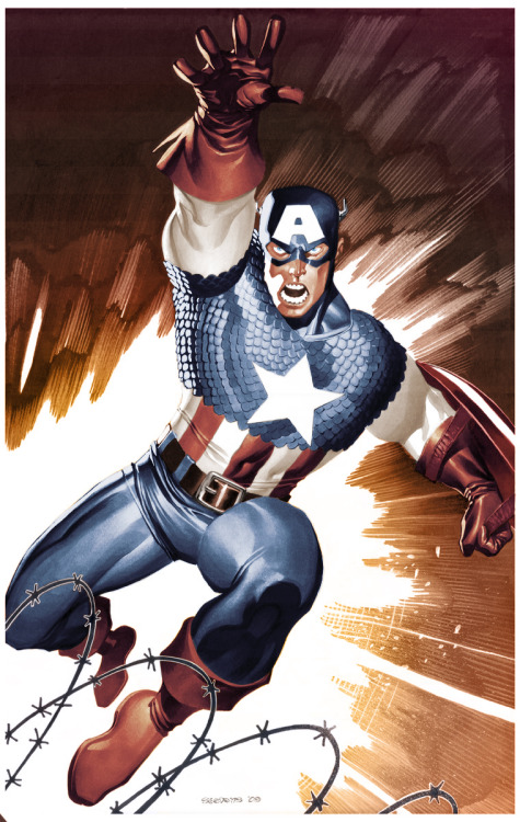 Captain America by Chris Stevens and Fernando Dominguez