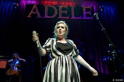 adele fat dress