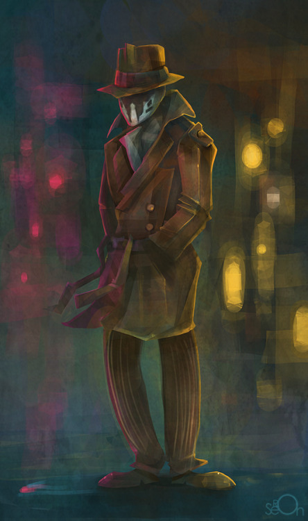 Rorschach stands alone by zgul-osr1113