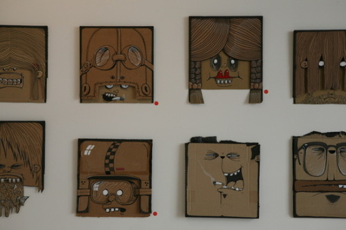My 100 Cardboards by Berni Valenta