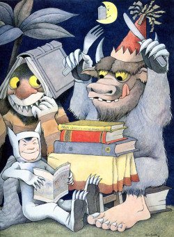 childrensbooks:  arianduzi: We Love You So – Where The Wild Things Are – Spike Jonze:   The Wild Things Want You To READ