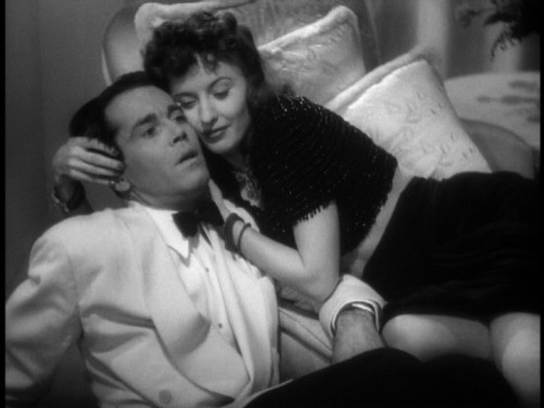 "Barbara Stanwyck & Henry Fonda in The Lady Eve (1941, Preston Sturges) (via reelclassics) (online here) ""You don't know very much about girls. The best ones aren't as good as you think they are and the bad ones aren't as bad. Not nearly as bad."""