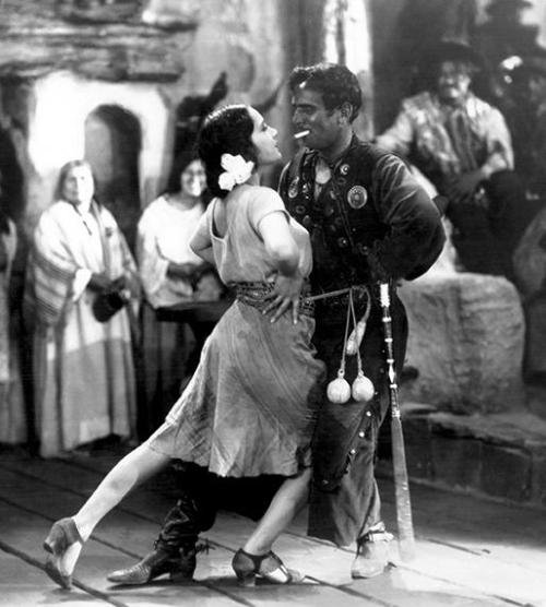 Lupe Velez & Douglas Fairbanks in The Gaucho (1927, dir. F. Richard Jones) (via sanfranciscosentinel.com)