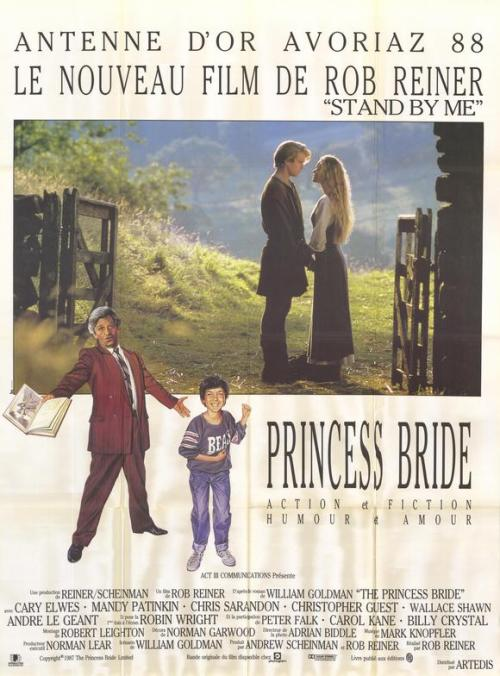 The Princess Bride poster.. the French version