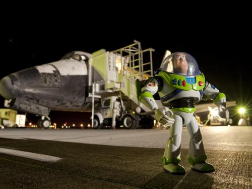 NASA Image Of The Day Gallery - The Return of Buzz Lightyear