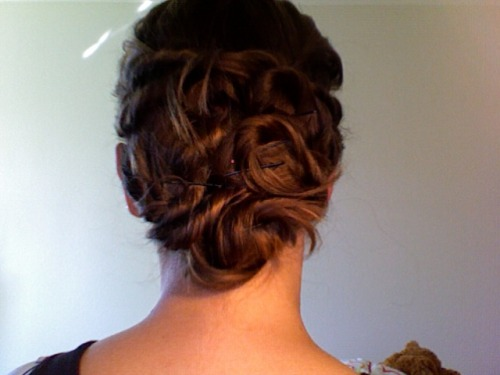 You are a hair goddess. Please take a video of how you do this. I would love to recreate. Too much? yourhandwithmine:  Not going to lie: on the badass scale, my hair is having a really good day.