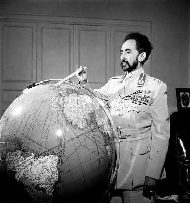 Haile Selassie plots Rastafari world domination.