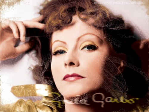 A Smile Happens in a flash, but its memory can last a lifetime Greta Garbo Birthday 18 September 1905 Stockholm Sweden Greta Garbo in Colour By Nici's