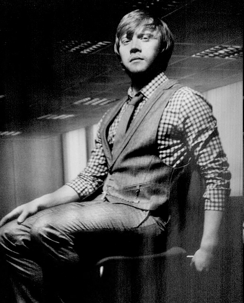 rupert grint for a random photo shoot, 2009.