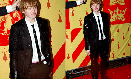rupert grint at the harry potter and the half-blood prince london premiere, 2009.